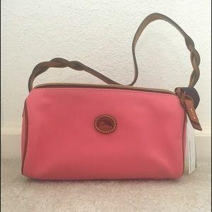 DOONEY & BOURKE Pink Canvas Barrel Bag